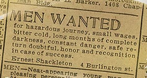 shackleton-job-ad