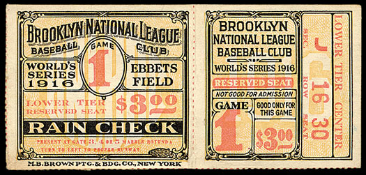 1916-brooklyn-dodgers-world-series-ticket-stub-game-first-win-franchise-history