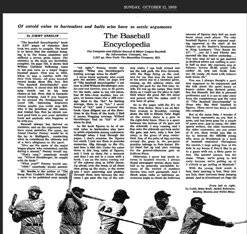 BBencyclopedia screen clip NYT review