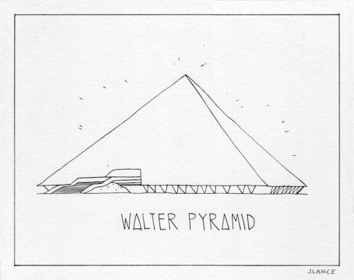 Jordan Lance. Pyramid. 2015